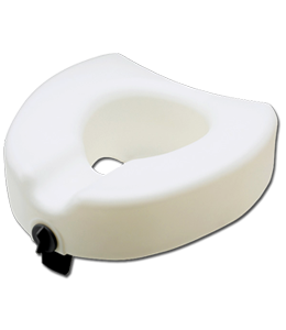 Raised Toilet Seat, Locking