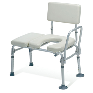 Guardian Padded Transfer Bench with Open Seat