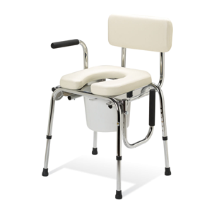 Guardian Padded Drop Arm Commode