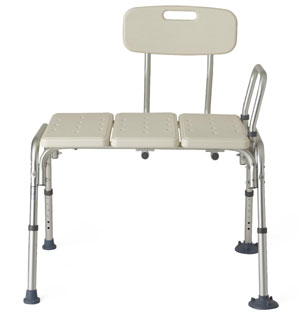 Non-Padded Transfer Bench