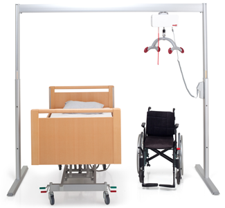 Molift Air Overhead Patient Lift System