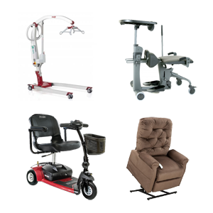 Scooters, Patient Lifts, Lift Chairs, And More